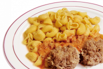 Биточки мясные с итальянской пастой У Палыча