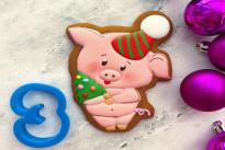 Пряник имбирный Свинка №3 Тесто