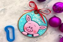 Пряник имбирный Свинка №1 Тесто