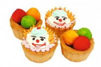 Пирожное Корзиночка Веселый клоун У Палыча