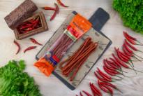 Колбаски сырокопченые KABANOS Chili Ремит