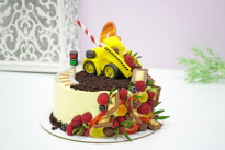 Торт Машинка SWEETMARIN