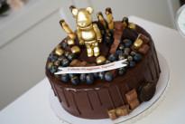 Торт с золотым мишкой SWEETMARIN