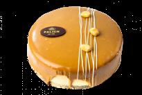 Торт с арахисом и карамельной нугой